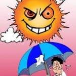 Ai dễ trúng nắng trên sân tập?